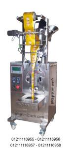 ماكينة تعبئة وتغليف البودر شديد النعومه الآتوماتيكية ذات اللحام من الظهر