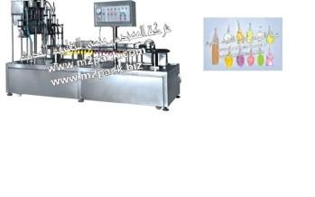 ماكينة لحام وتعبئة الزجاجات المصنوعة من البلاستيك الرقيق موديل 289 التى نقدمها نحن شركة المهندس المنسي للتغليف الحديث و الصناعات الهندسيه M2Pack.com: